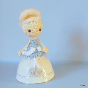 horgolt Marie Antoinette baba