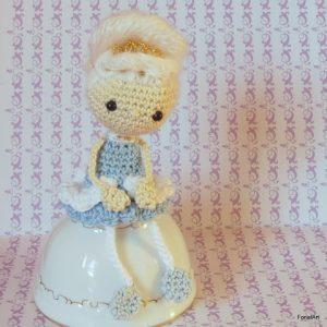 horgolt Marie Antoinette