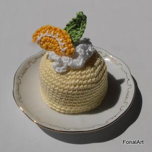 horgolt citromparfé